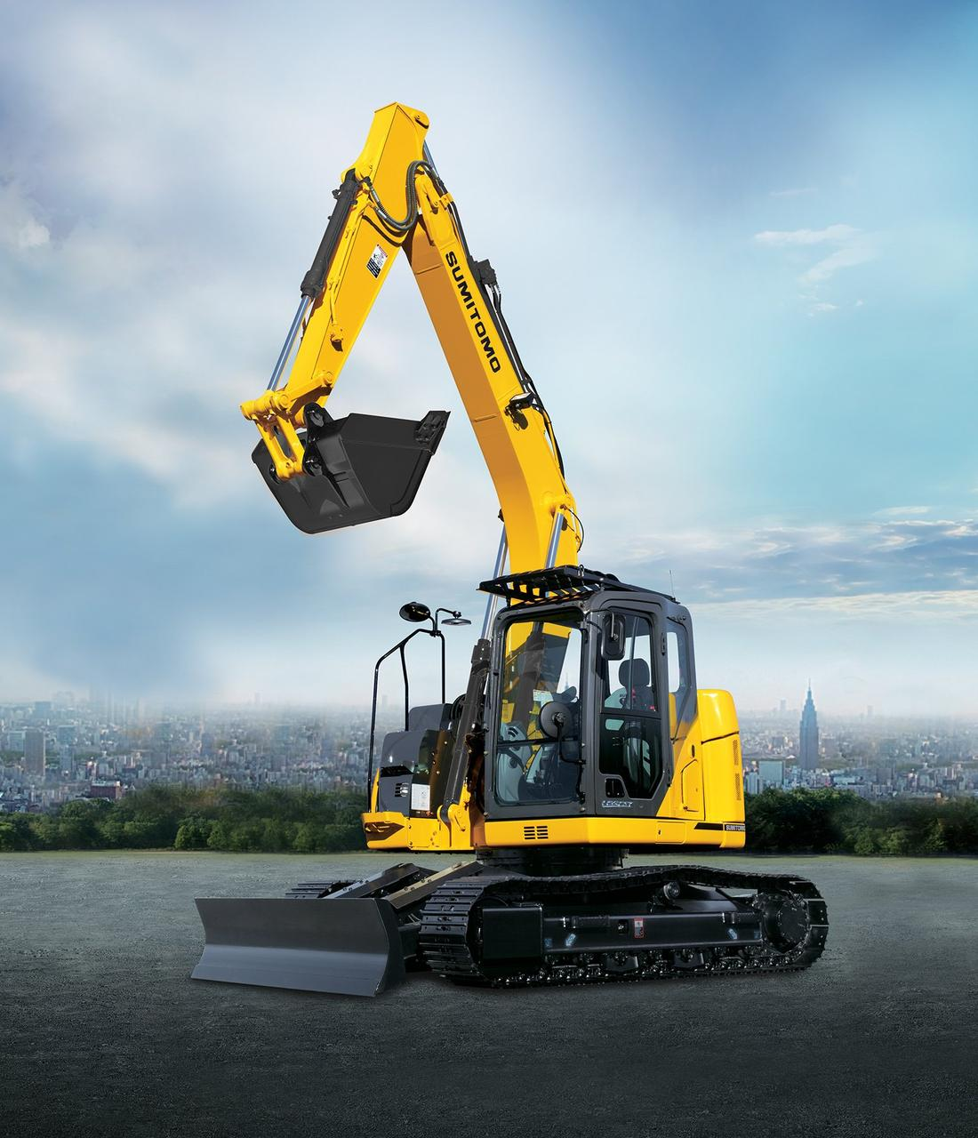 Экскаватор SH145X-6 Sumitomo TSM GLOBAL