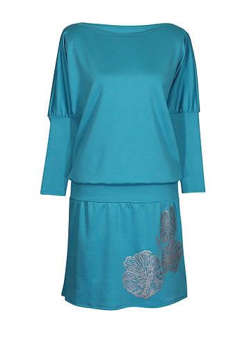 Платье фасона летучая мышь Маки для женщин