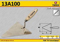 Кельма каменщика 180 x 180 мм,  TOPEX  13A100