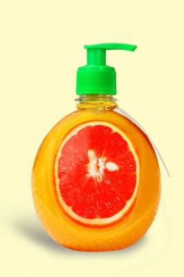 Гель мыло Грейпфрут антибактериальное жидкое мыло 500мл, фото 2