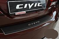 Накладка на бампер Honda Civic 4D FL (2013+) CARBON