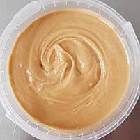 Арахісова паста КРАНЧ, 1кг, відро, з хрусткими шматочками арахісу, натуральна без домішок, фото 2