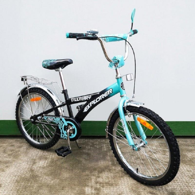Велосипед EXPLOLER 20 с большими колесами BMX