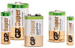 Батарейки GP alkaline