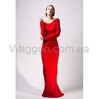 Платье красное рыбка Waggon Paris