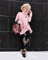 Женская теплая туника с горлом, фото 1