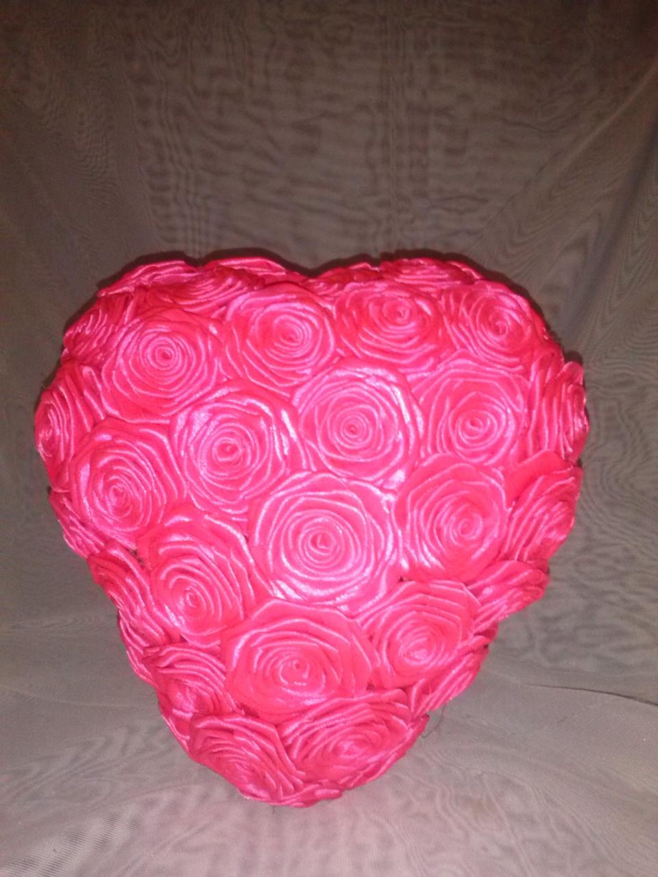 Сердце из цветов 3D