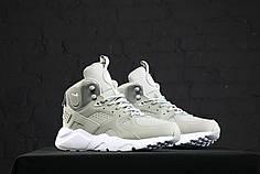 Кроссовки мужские Nike Huarache Winter серые топ реплика