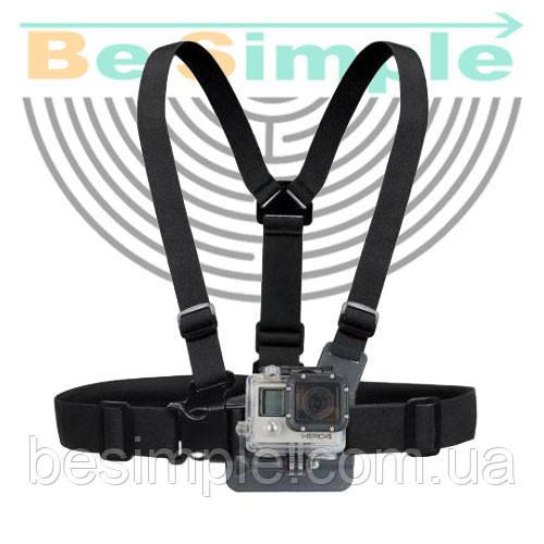 Крепление на грудь для экшн-камер GoPro SJCAM XIAOMI SONY (Chest Mount Harness)