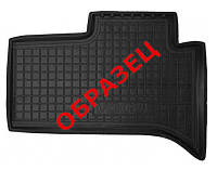 Коврики в салон Audi A6 (C7) с 2010 - черные, полиуретановые (Avto-Gumm, 11518-11565v) - задний водительский