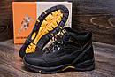Мужские зимние кожаные ботинки Jack Wolfskin Black , фото 8