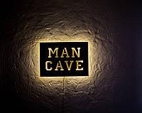 Светильник настенный Man Cave (желтый свет), фото 1