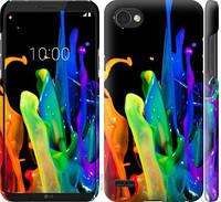 """Чехол на LG Q6 брызги краски """"3957c-1094-328"""""""