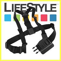 Кріплення на груди для екшн камер GoPro, Xiaomi, SJCAM, AEE, Sony. Chest Mount Harness