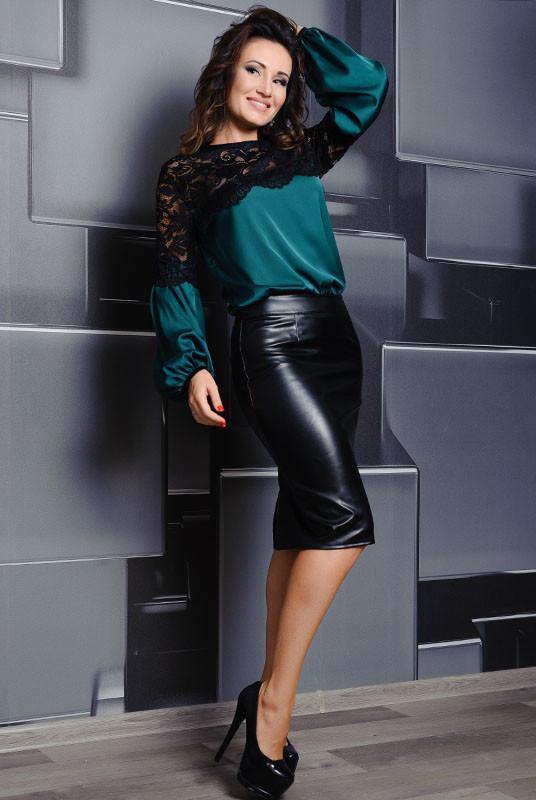 ff668172581 Женская нарядная блузка Мери