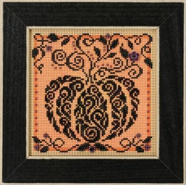 Набор для вышивки крестиком и бисером Enchanted Pumpkin Mill Hill