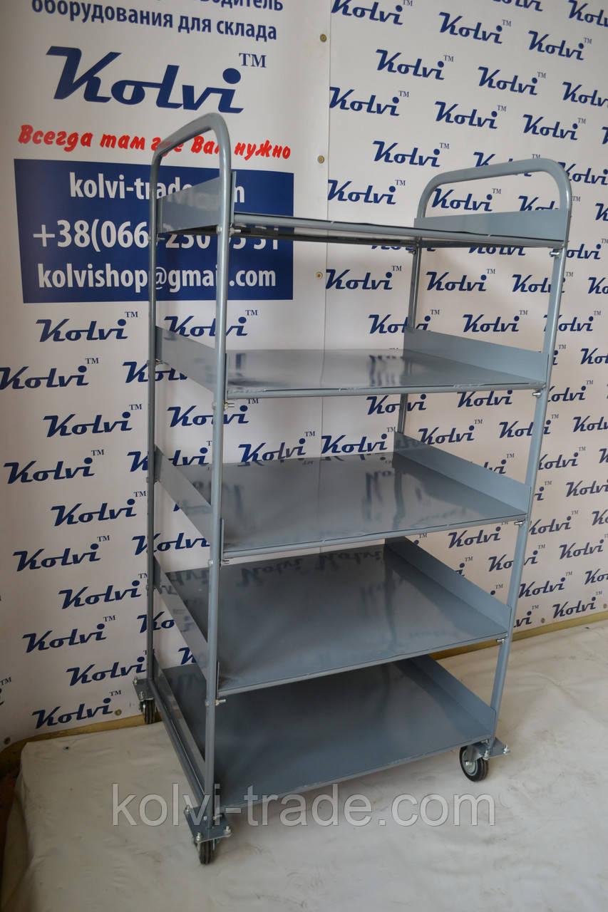 Изготовление полочной ручнойТележки Kolvi ТП-5П под заказ