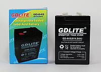 Аккумулятор GDLITE GD 645 6V 4 Ah, фото 1