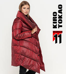 11 Kiro Tokao | Женская зимняя куртка 816 красная L