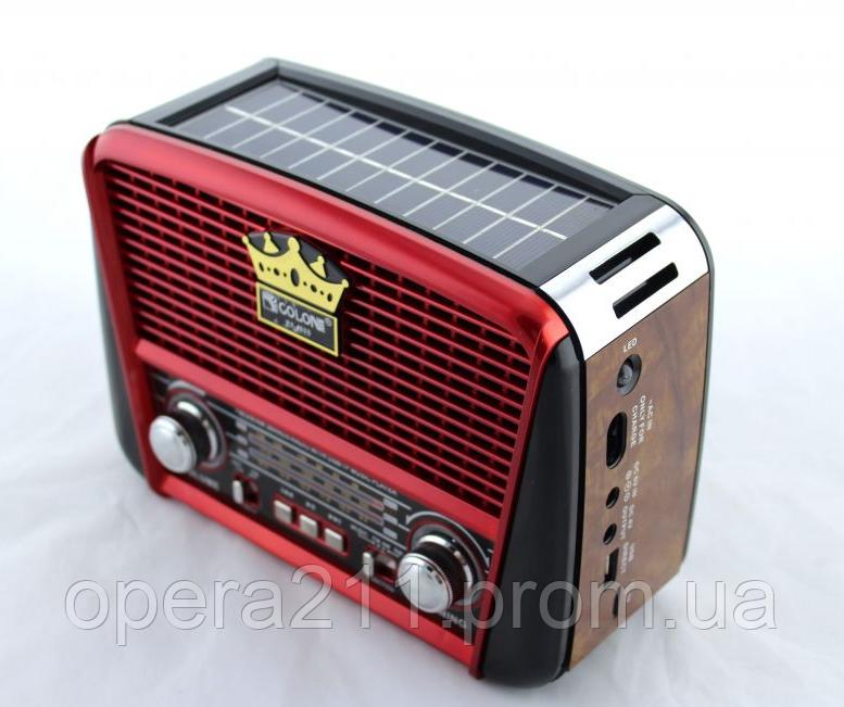 Радиоприемник GOLON RX-455S (SOLAR)