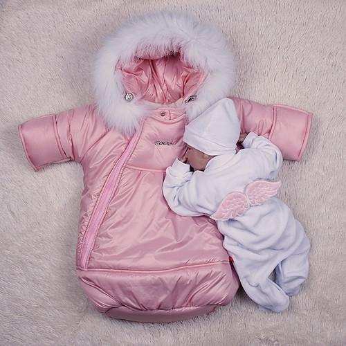 Зимовий набір Космонавт+Angel (рожевий)