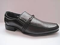 Детские кожаные туфли для мальчика р.35 - 24,5 см