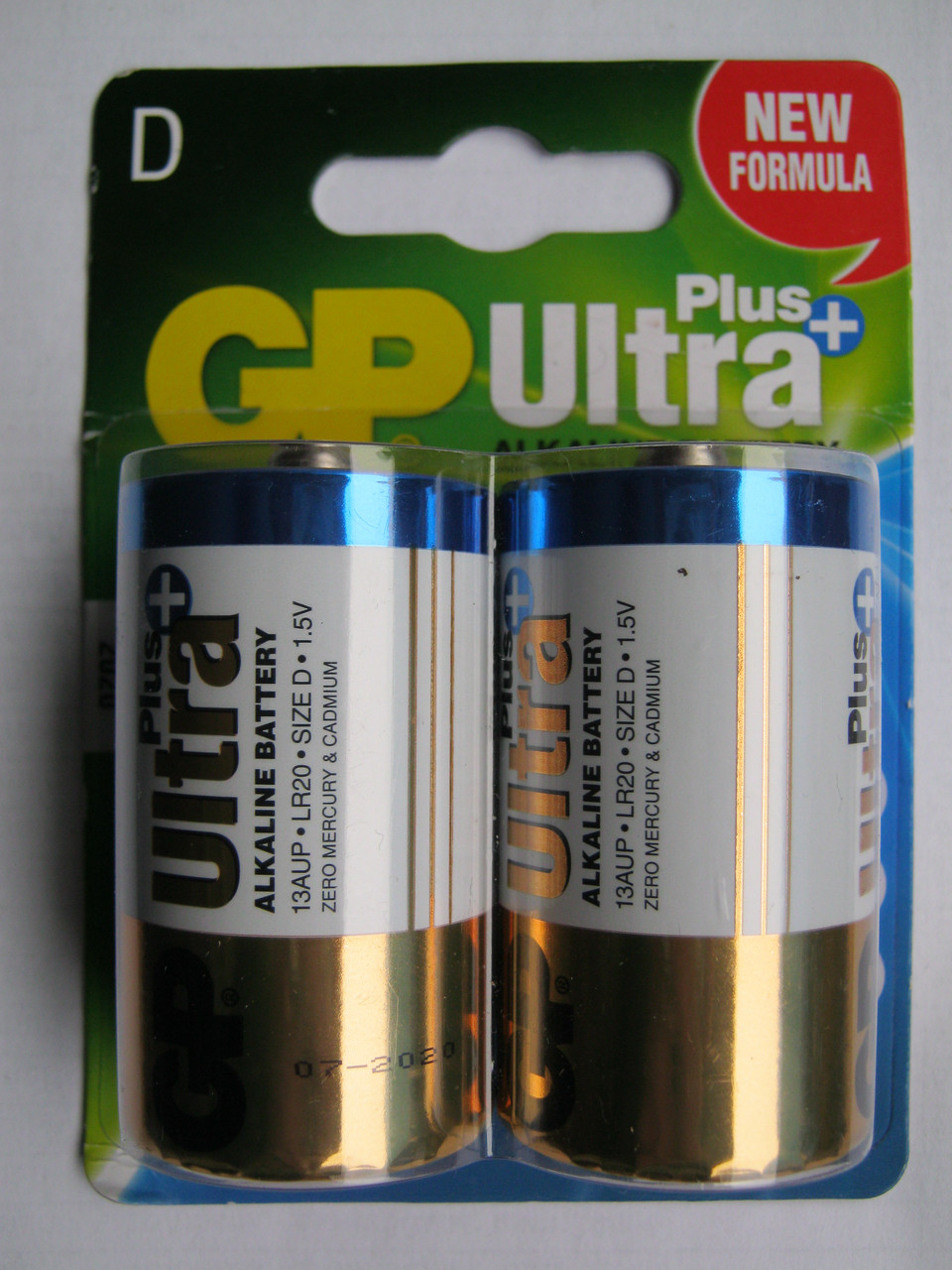 Батарейки GP Ultra Plus D LR20