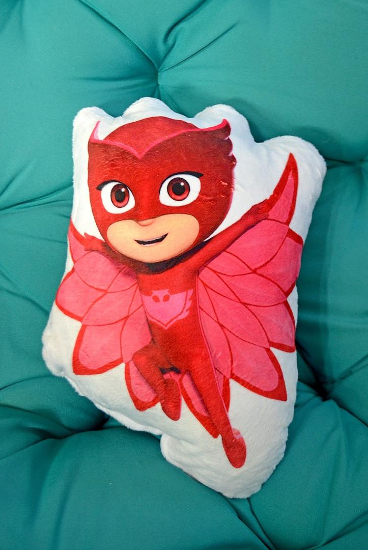 Подушка-кукла из плюша