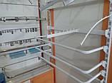 Рейка 1900мм перфорована білого кольору для настінного торгового обладнання, фото 7