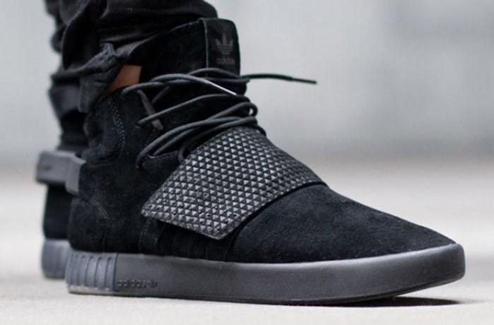 e1a63ef77 Кроссовки высокие осенние черные мужские Adidas Tubular Адидас Тубулар