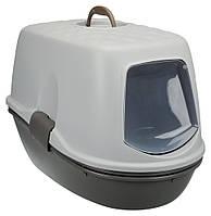 Trixie TX-40162 туалет Berto для кота  с фильтром и дополнительным ситом (39 × 42 × 59 см )