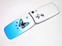 Телефон Samsung W888 Синий -  2Sim - раскладушка - Fm - Bt - Cam