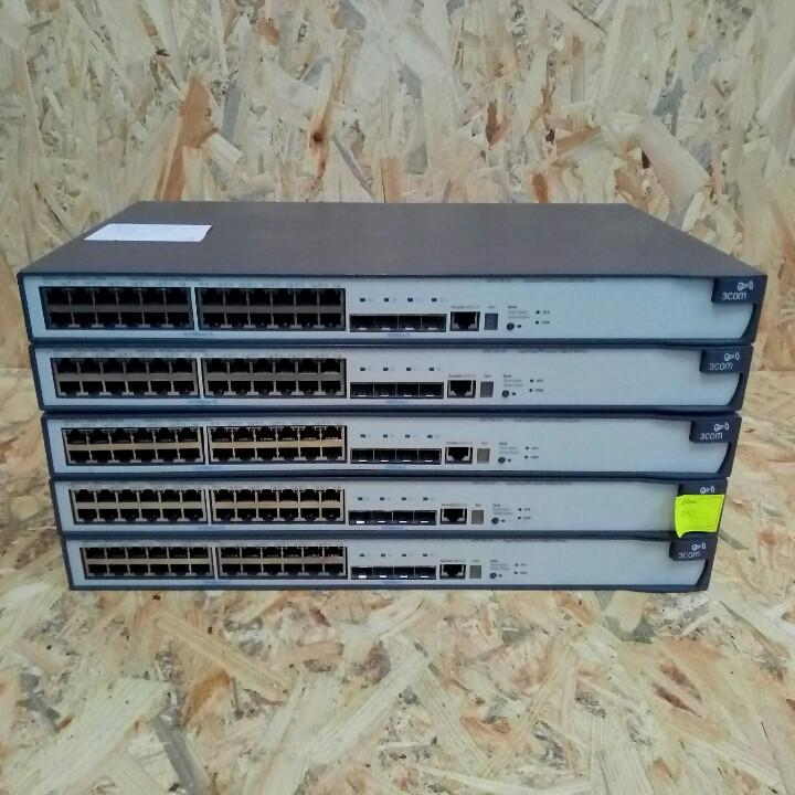 Мережевий коммутатор 3Com SuperStack 4 Switch 5500-El 28-Port ( 3CR17161-91 )