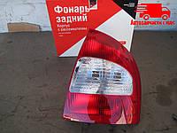 Фонарь задний правый без лампочек, без патронов ВАЗ 1118 (пр-во ОАТ-ДААЗ) 11180-371603000 Ціна з ПДВ