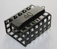 Кормушка фидерная металлическая 40 грамм