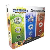 Бейблейд набор Супергерои 3 волчка с маленькой ареной BeyBlade Super Hero YD