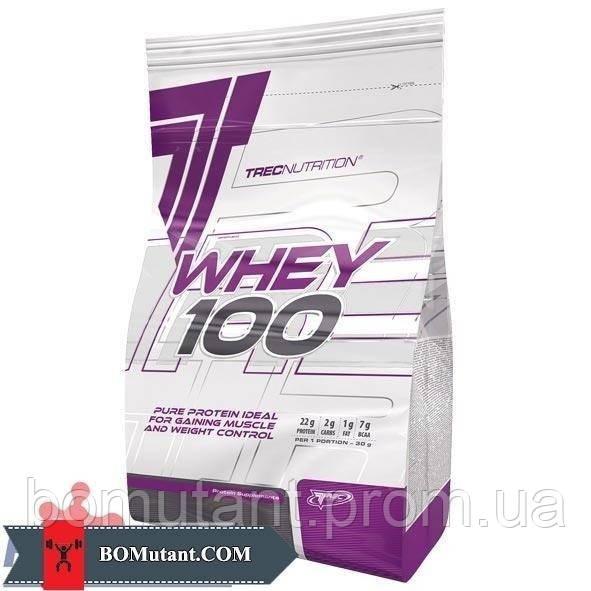 Whey 100 0,900кг TREC nutrition адвокат