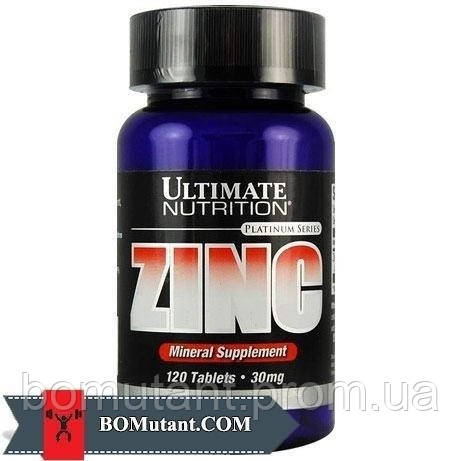 Zinc 120таблетки Ultimate Nutrition шоколад-кокос