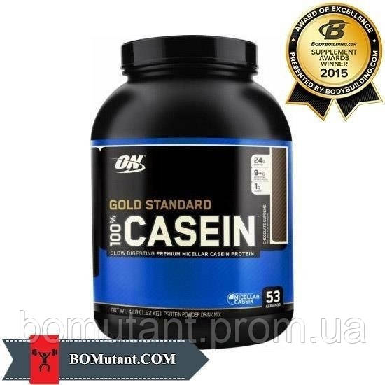 100% Gold Standard Casein 1,8кг Optimum Nutrition шоколадное арахисовое масло