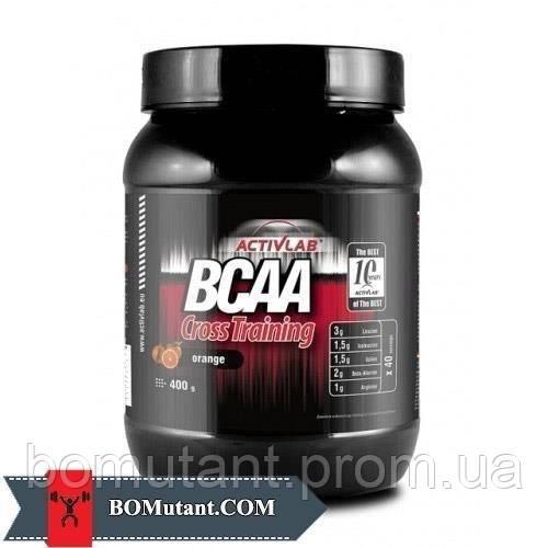 BCAA Cross Training 0,400кг Activlab шоколадно-оранжевый