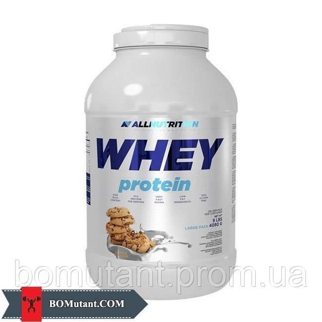 Whey Protein 4,08кг All Nutrition клубника-банан