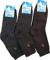 Носки мужские махровые стрейчевые серые 25-27 р. (39-42)