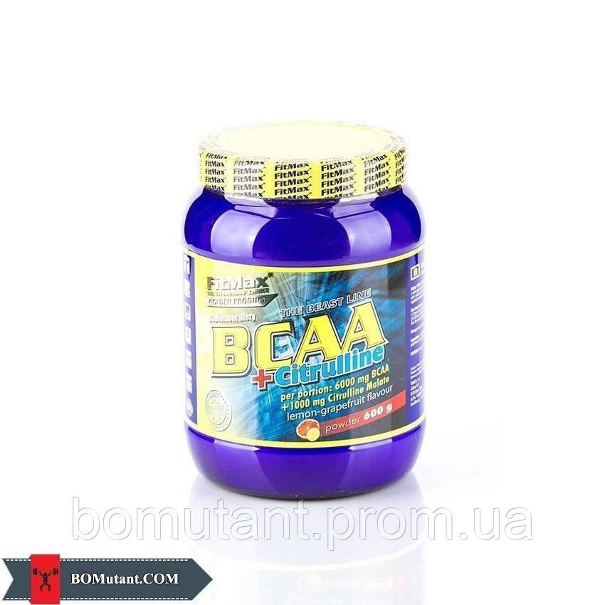 BCAA + Citrulline 0,600кг FitMax вишня-черная смородина
