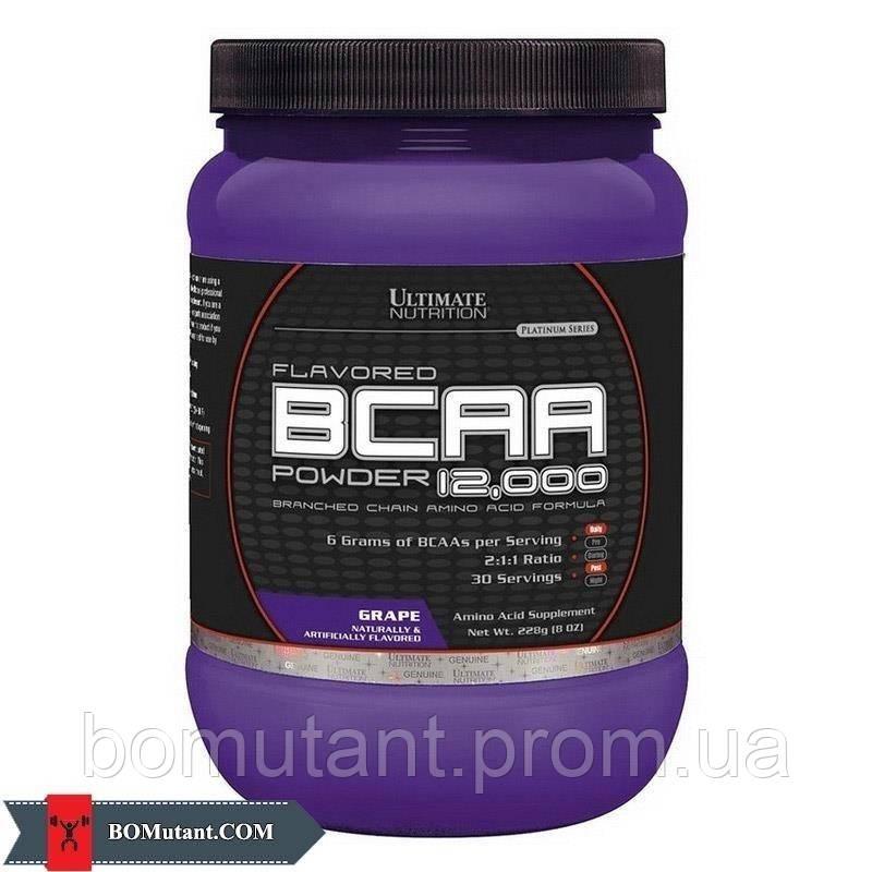 BCAA 12,000 0,228кг Ultimate Nutrition шоколадно-оранжевый
