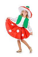 Детский карнавальный костюм Мухомор девочка код 1054