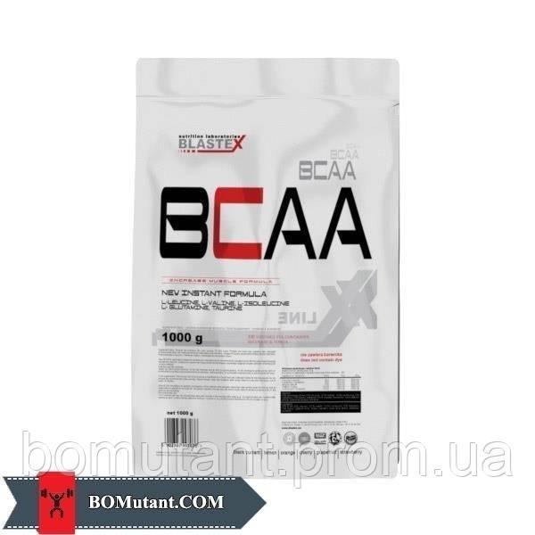 BCAA 1кг BLASTEX сладкая клубника