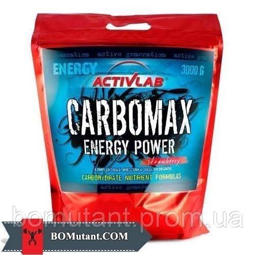 Carbomax energy power 3кг Activlab черная смородина