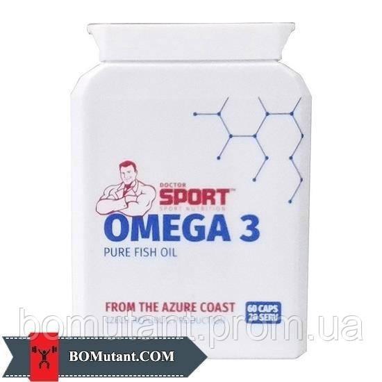 Omega 3 60капсулы Doctor SPORT шоколад-кокос