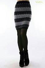Теплая женская юбка 42-48р.