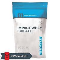 Impact Whey Isolate 1кг MyProtein экстремальные клубничным кремом